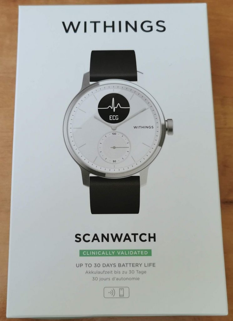 Verpackung Withings ScanWatch