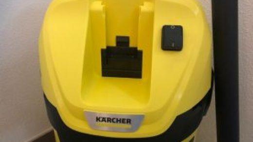 Kärcher WD 3 Battery Test